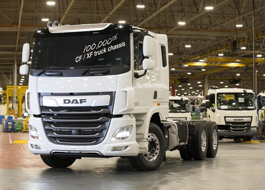 Leyland-Trucks-builds-100000th-DAF-CF-XF-truck